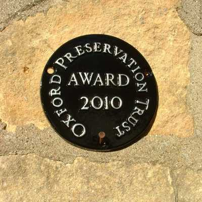 Oxford Preservation Trust Award 2010